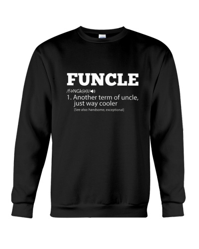 Mens Funny Uncle - Funcle Cooler Term T- shirt