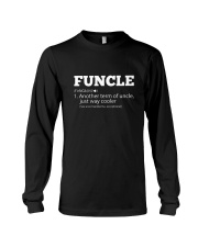 Mens Funny Uncle - Funcle Cooler Term T- shirt Long Sleeve Tee thumbnail