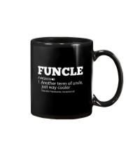 Mens Funny Uncle - Funcle Cooler Term T- shirt Mug thumbnail