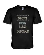 PRAY FOR LAS VEGAS T-SHIRT V-Neck T-Shirt thumbnail