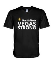 Vegas Strong Shirts V-Neck T-Shirt thumbnail