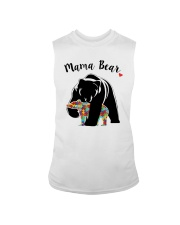 Funny Mama Bear T-Shirt Sleeveless Tee thumbnail
