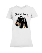 Funny Mama Bear T-Shirt Premium Fit Ladies Tee tile