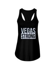 VEGAS STRONG LAS VEGAS Shirts Ladies Flowy Tank thumbnail