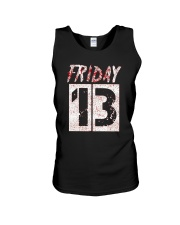 Unlucky Friday the 13th Shirt  Unisex Tank thumbnail