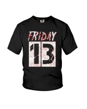 Unlucky Friday the 13th Shirt  Youth T-Shirt thumbnail