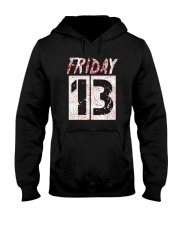 Unlucky Friday the 13th Shirt  Hooded Sweatshirt thumbnail