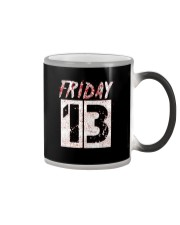 Unlucky Friday the 13th Shirt  Color Changing Mug thumbnail