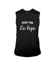 Pray For Las Vegas Support Graphic T-Shirt Sleeveless Tee thumbnail