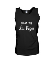 Pray For Las Vegas Support Graphic T-Shirt Unisex Tank thumbnail