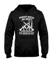 Nobody Needs An AR15 Gun Tee Shirt Hooded Sweatshirt thumbnail