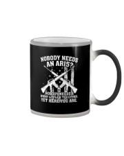 Nobody Needs An AR15 Gun Tee Shirt Color Changing Mug thumbnail