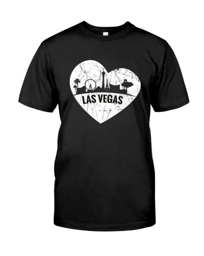I Love Las Vegas Nevada T-Shirt