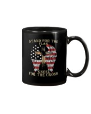Stand For The Flag Kneel For The Cross T Shirt Mug thumbnail