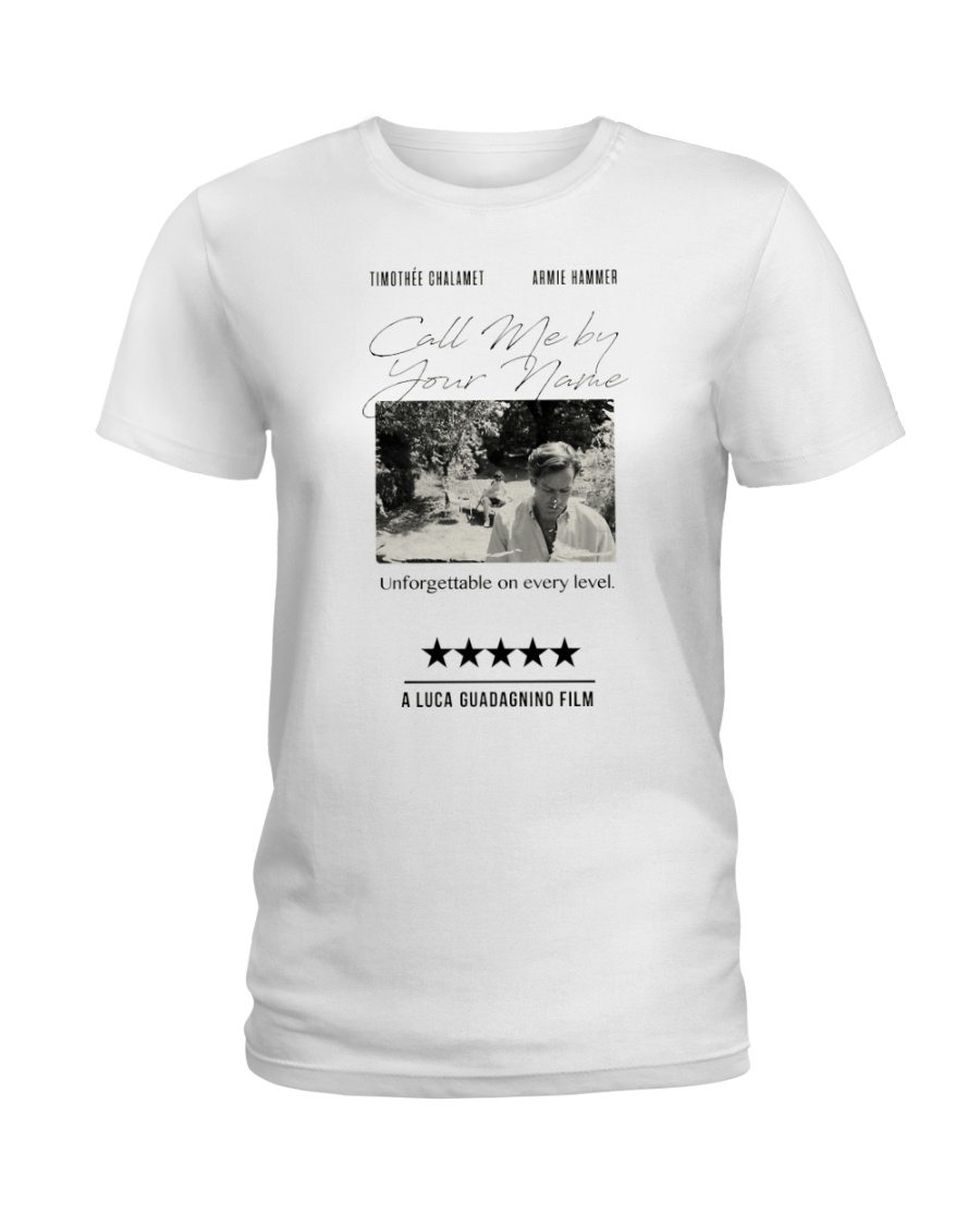 Call me by your name 2018 T-Shirt Ladies T-Shirt