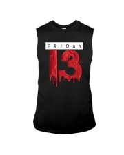Unlucky Friday the 13th Shirt  Sleeveless Tee thumbnail