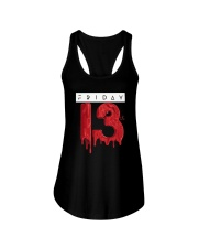 Unlucky Friday the 13th Shirt  Ladies Flowy Tank thumbnail