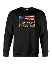 Thank you Veterans T-Shirt Crewneck Sweatshirt thumbnail