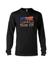Thank you Veterans T-Shirt Long Sleeve Tee thumbnail