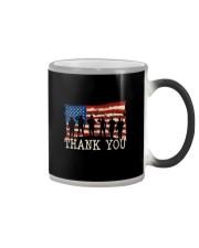Thank you Veterans T-Shirt Color Changing Mug thumbnail