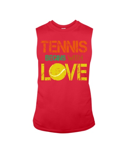 Tennis begins with LOVE