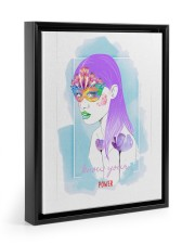 Know Your Power  11x14 Black Floating Framed Canvas Prints thumbnail