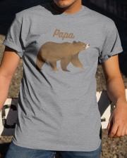 Papa Bear T Shirt Classic T-Shirt apparel-classic-tshirt-lifestyle-28