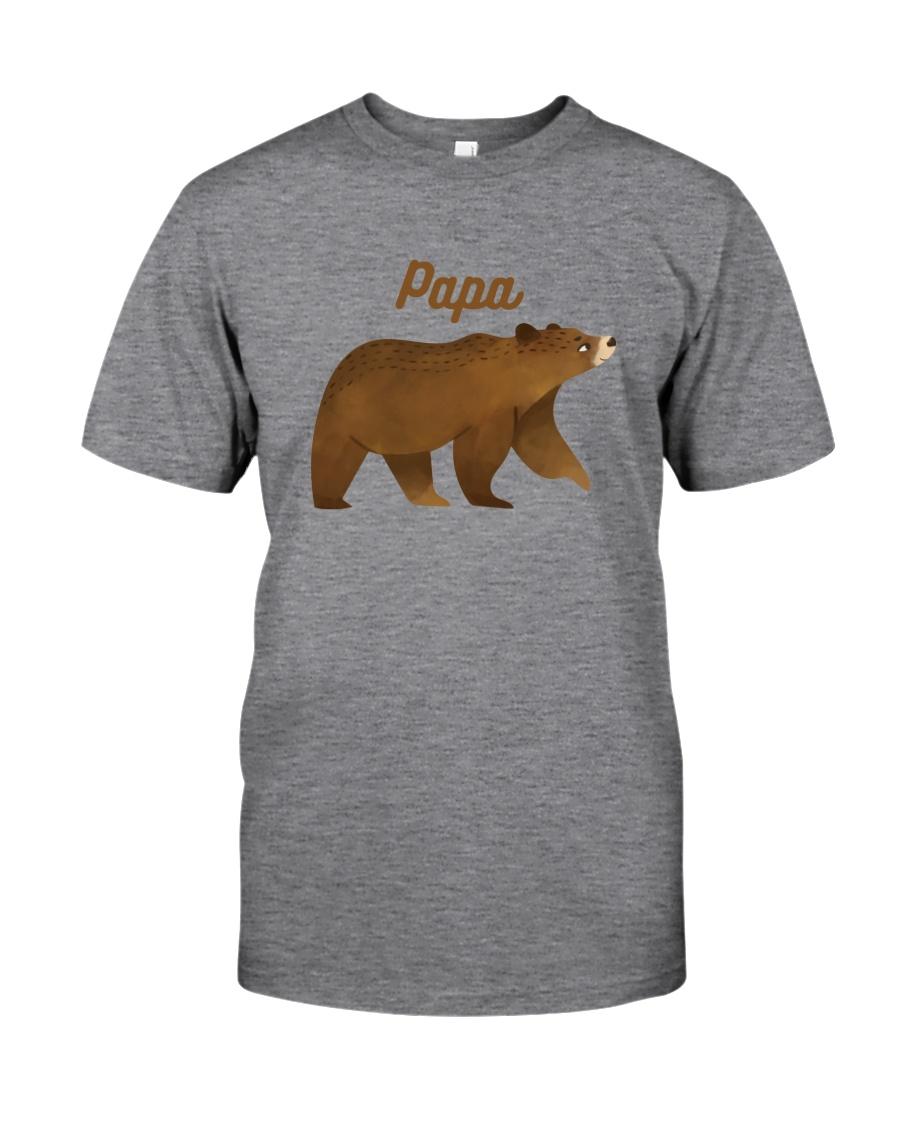 Papa Bear T Shirt Classic T-Shirt