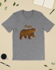 Papa Bear T Shirt Classic T-Shirt lifestyle-mens-crewneck-front-19
