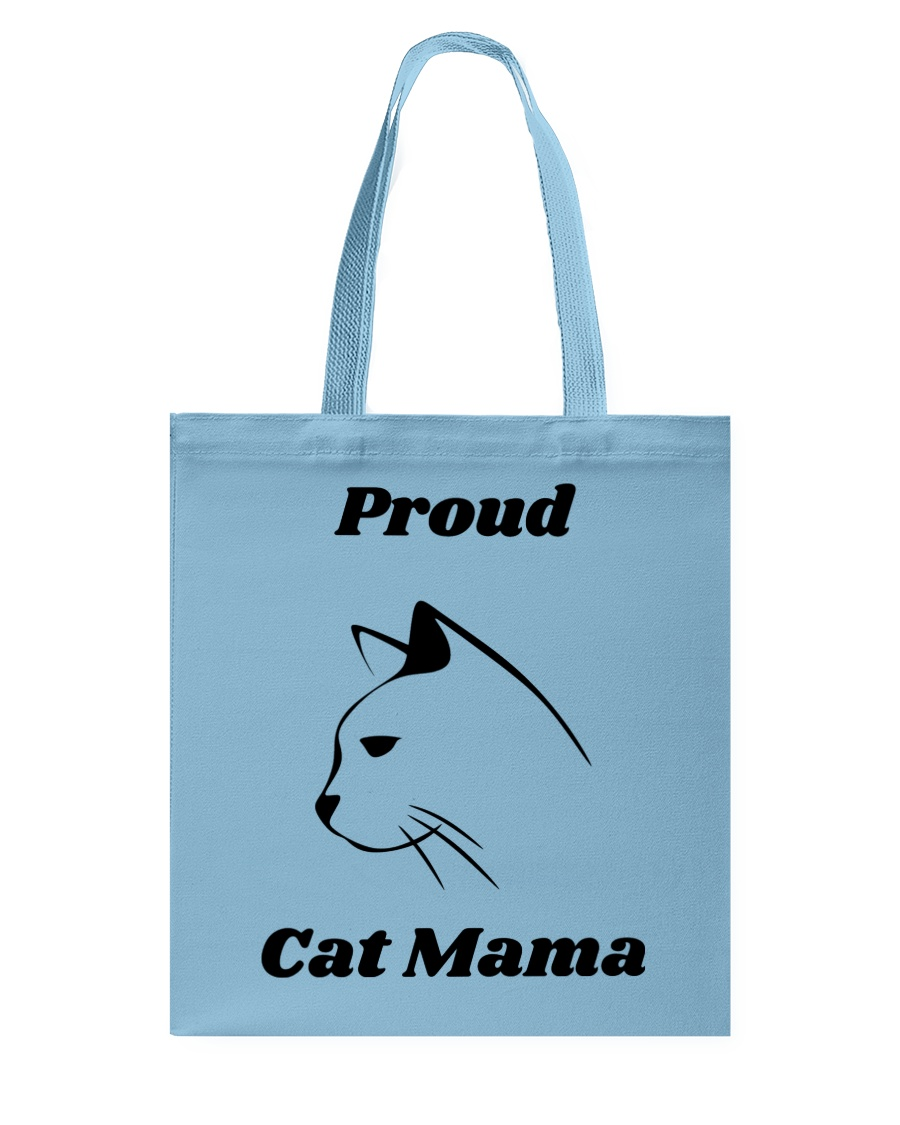 Proud Cat Mama Tote Bag