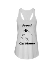 Proud Cat Mama Ladies Flowy Tank thumbnail