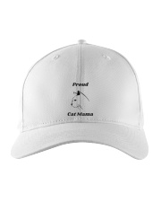 Proud Cat Mama Embroidered Hat thumbnail