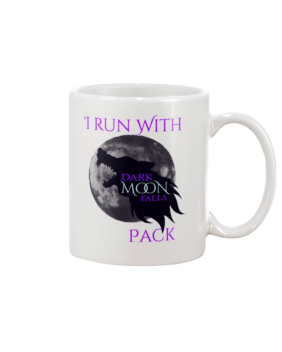 Dark Moon Falls - I Run With Pack Mug Mug