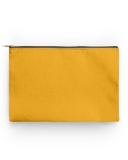 Yellow pooch standard  Accessory Pouch - Standard back