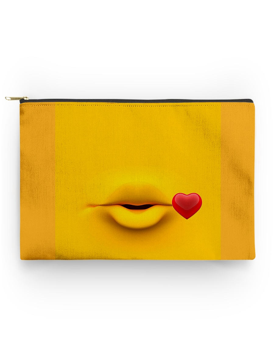 Yellow pooch standard  Accessory Pouch - Standard