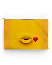 Yellow pooch standard  Accessory Pouch - Standard front