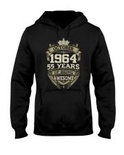 HAPPY BIRTHDAY OCTOBER 1964 Hooded Sweatshirt thumbnail