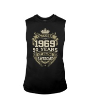 HAPPY BIRTHDAY OCTOBER 1969 Sleeveless Tee thumbnail