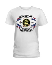 WELDING OPERATION  Ladies T-Shirt thumbnail