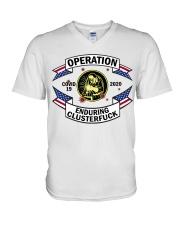 WELDING OPERATION  V-Neck T-Shirt thumbnail