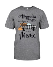 THE HAPPINESS OF MEME Classic T-Shirt front