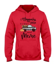 THE HAPPINESS OF MEME Hooded Sweatshirt front