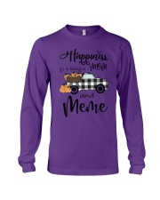 THE HAPPINESS OF MEME Long Sleeve Tee thumbnail
