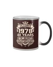 HAPPY BIRTHDAY OCTOBER 1978 Color Changing Mug thumbnail