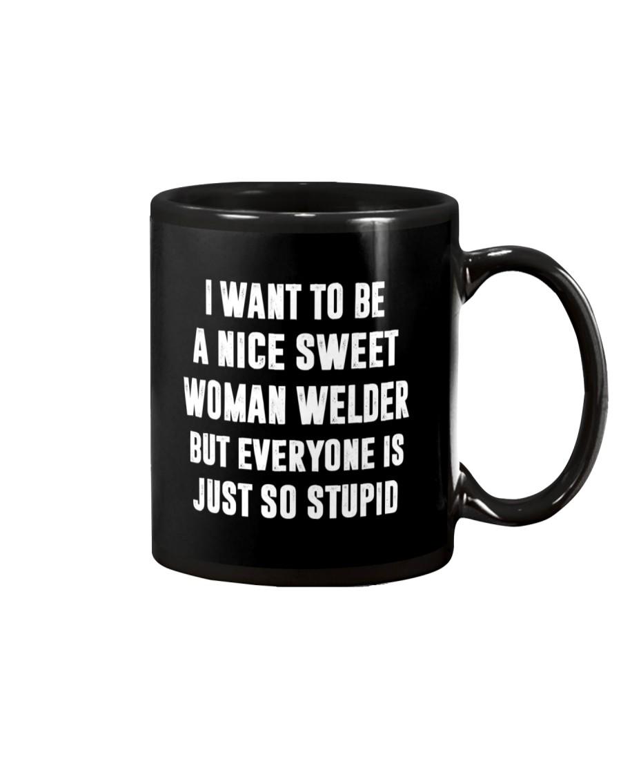 NICE SWEET WOMAN WELDER Mug