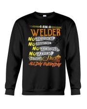 STRAIGHT WELDER  Crewneck Sweatshirt thumbnail