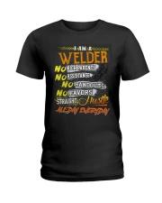 STRAIGHT WELDER  Ladies T-Shirt thumbnail
