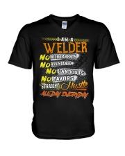 STRAIGHT WELDER  V-Neck T-Shirt thumbnail
