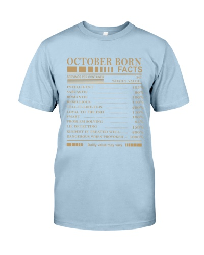 October born's Facts