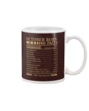 October born's Facts Mug thumbnail